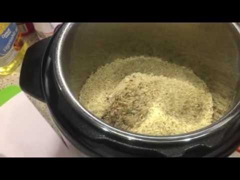 Easy Instant Pot  Pork Chops, Rice And Vegetables