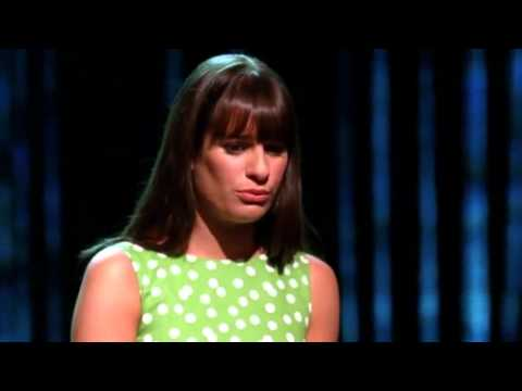 GLEE Full Performance of 'Big Girls Don't Cry'