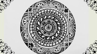 How to Draw : Mandala