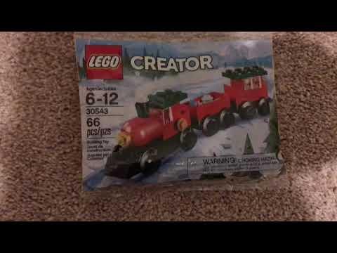 LEGO Creator Christmas Train Review!