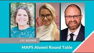 MAPS Alumni Round Table