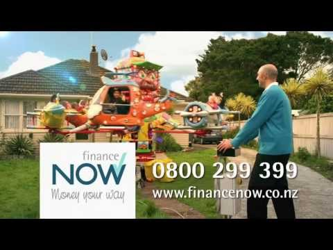"Finance Now | Personal Loan | ""Carny ride"""