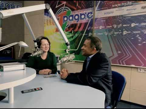Interview with Mr. Sanaka Samarasinha to Белтелерадиокомпания Беларускае радыё