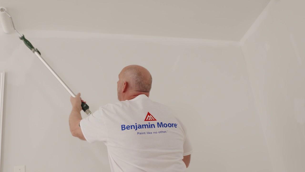 Comment peindre un plafond benjamin moore youtube - Video comment peindre un plafond ...