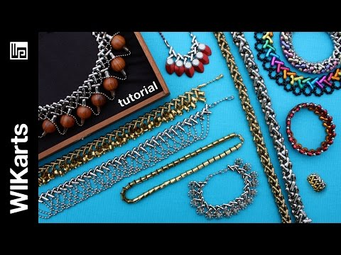 WIKarts Tutorial: Making Jewelry With Interwoven Ball Chain