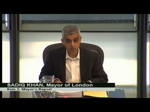 2017 03 22 LONDON Mayor's question time hours before terror attack | London assembly | Brexit