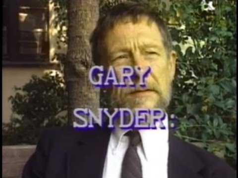 Writers Uncensored: Gary Snyder: If Trees Could Talk