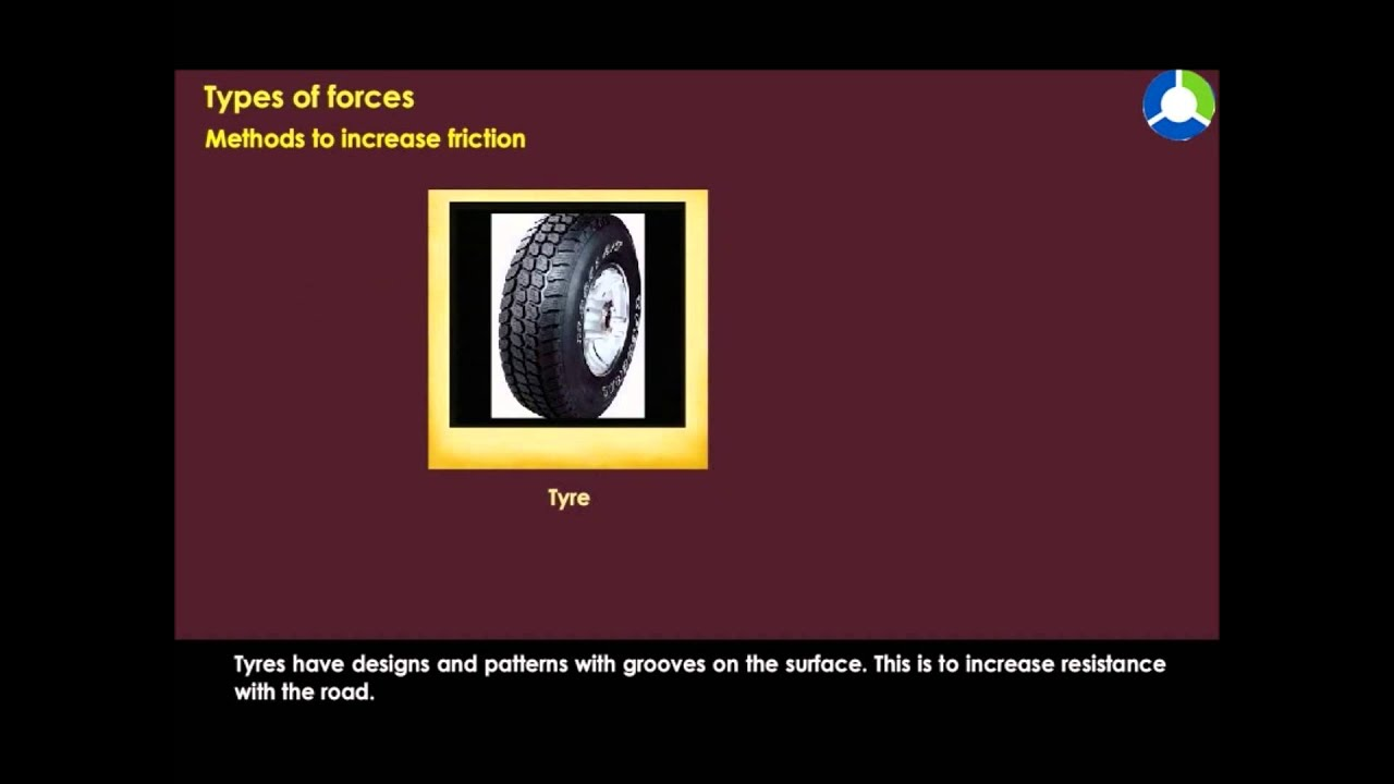 air resistance tyres and friction Air resistance is a form of friction (namely fluid friction) a friction from the air, as we know friction is defined as a force that opposes movement the formula used to determine aerodynamic drag is as follows: drag = 05  rho  cd  v2  s.
