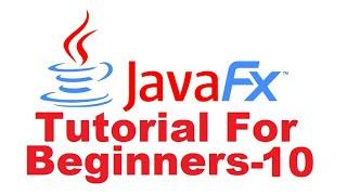 JavaFx Tutoriel Pour Les Débutants 10 - Créer De Connexion De L'Application