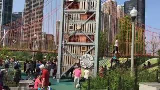 EPIC KIDS PARK!!! BEST PLAYGROUND EVER! MAGGIE DALEY PARK IN CHICAGO