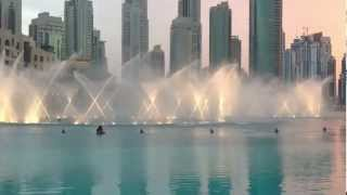 Dubai Dancing Fountain with Arabic songs