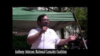 Global Cannabis March 2013: Anthony Johnson - Tell Your Truth