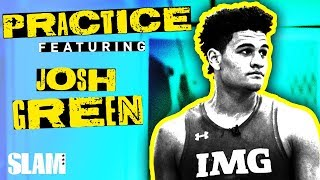 "Josh Green is TOO NICE Mic'd Up: ""I Couldn't Dunk ON MY SON"" 🤣 