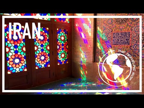 The colorful mosque in Shiraz - A Wop in Iran 4/5 - The Traveling Wop