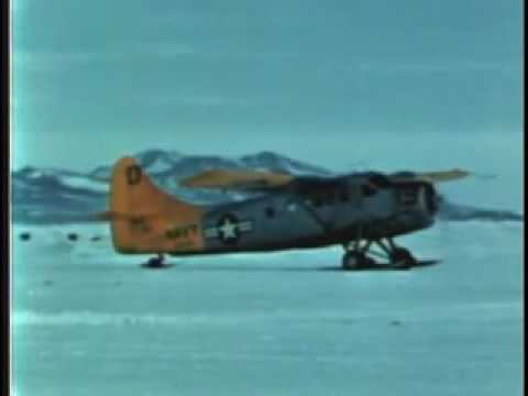 Flight to the South Pole (1968) Documentary on Aerial Operations in Antarctica