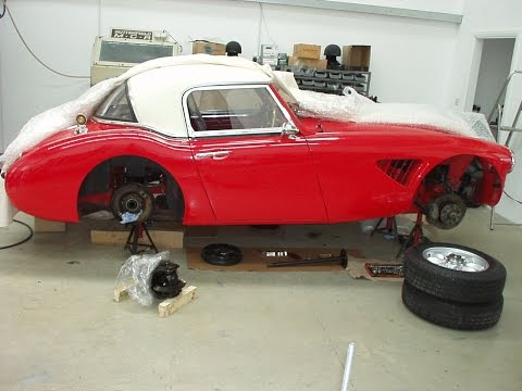 How To Build And Equip An Austin Healey 3000 Works Rally Car