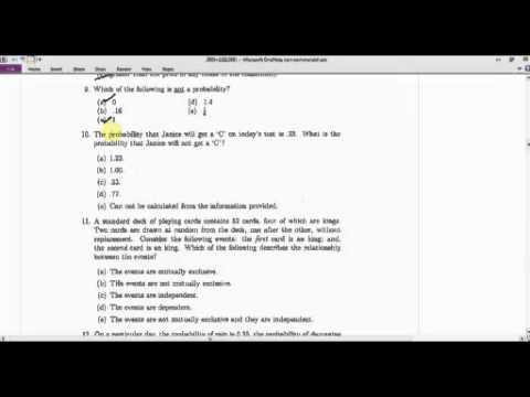 Math101 Final Exam Sp2010 9