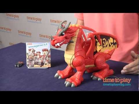 Imaginext Castle Dragon From Fisher-Price