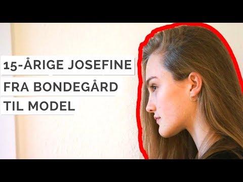 Fra bondegård til catwalk - Sådan blev Josefine opdaget som model
