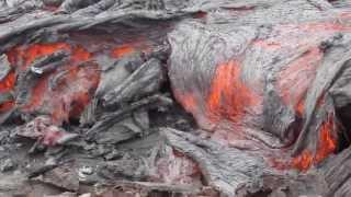 Kamchatka Volcanoes: Tolbachik Eruption Lava Flow