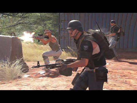 GHOST RECON WILDLANDS NPC Wars (Kataris 26 vs Santa Blanca) |