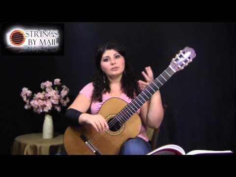Sor Study No. 22, Op. 35 - Balance - Strings By Mail Lessonette   Gohar Vardanyan