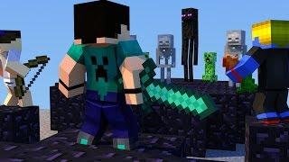 Minecraft - PARAÍSO - #20 NOSSO TREINAMENTO!!