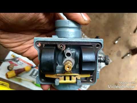 Yamaha RX 100 carburetor clean & setting