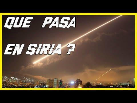 ¿ QUE PASA EN SIRIA ? EL ATAQUE  DE ESTADOS UNIDOS FUE ILEGAL !  SYRIA - USA CONFLICTO EN  SIRIA