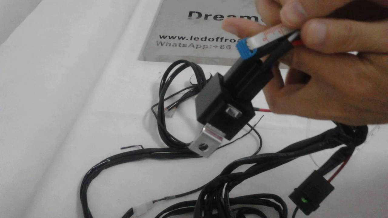 medium resolution of dreamer 12v waterproof wiring harness kit two leads dc universal 2 channel output led lights