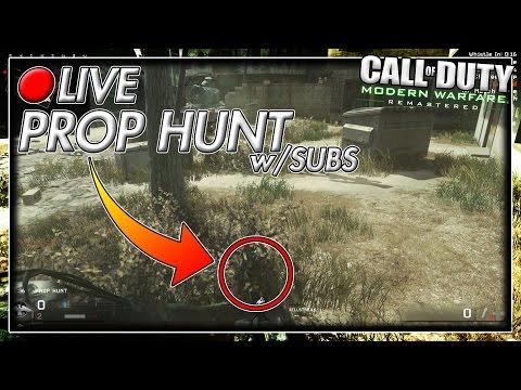 PROP HUNT w/SUBS! [Modern Warfare Remastered Livestream w/FlipArtz]