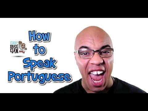 HOW TO SPEAK PORTUGUESE: 1 - Funny Brazilian
