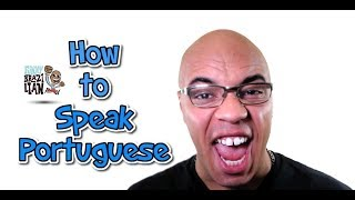 HOW TO SPEAK PORTUGUESE: 1 - Funny Brazilian
