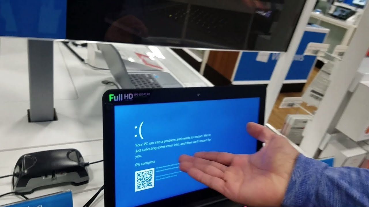 How To Easily Crash The 2017 Razer Blade Laptop Blue Screen Of Bsod