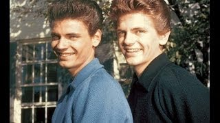 The Everly Brothers getting the Giggles singing *Oh Baby Bye-Oh*