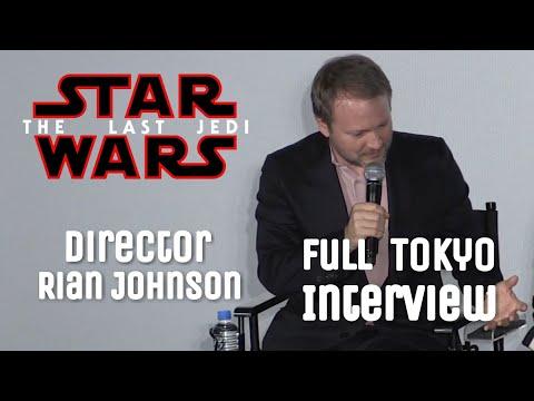 Download Youtube: Star Wars: The Last Jedi Director Rian Johnson Full Tokyo Interview
