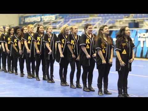 Kappa Delta & Alpha Phi Alpha Flip Flop Stroll Off 2016