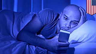 Blue light and sleep disruption: Looking at screens ruins our sleep, study says  - TomoNews
