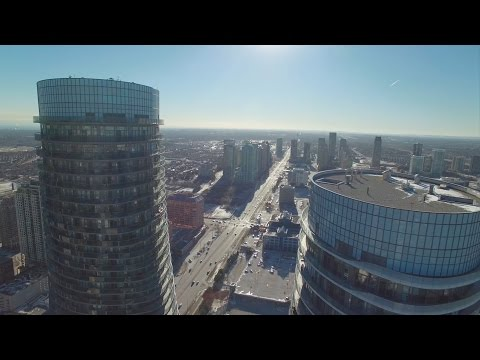Aerial Footages of Mississauga, Ontario