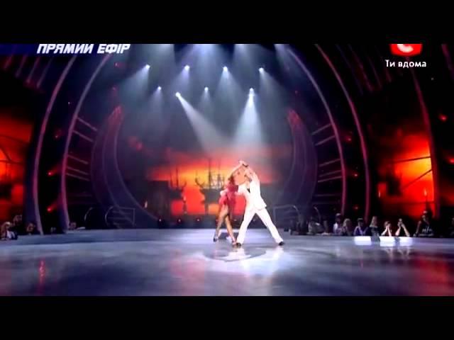 SYTYCD 2012 Ukraine - Tango by Anna & Ildar / Astor Piazzolla & Yo-Yo Ma -- Fugata