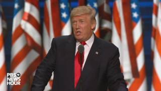 Donald Trump accepts GOP nomination for U.S. president