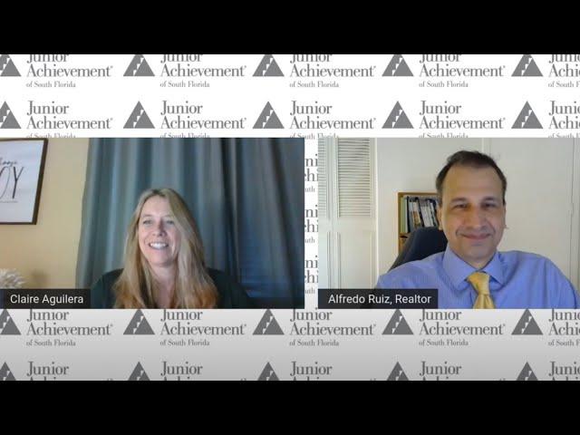 Junior Achievement Speaker Series | Building Relationships with Alfredo Ruiz