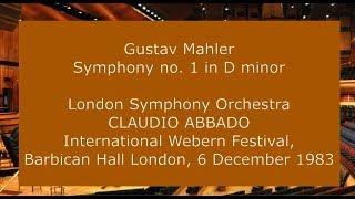 Play Symphony No. 1 Kraeftig Bewegt, Doch Nicht Zu Schnell (Valery Gergiev, London Symphony Orchestra)