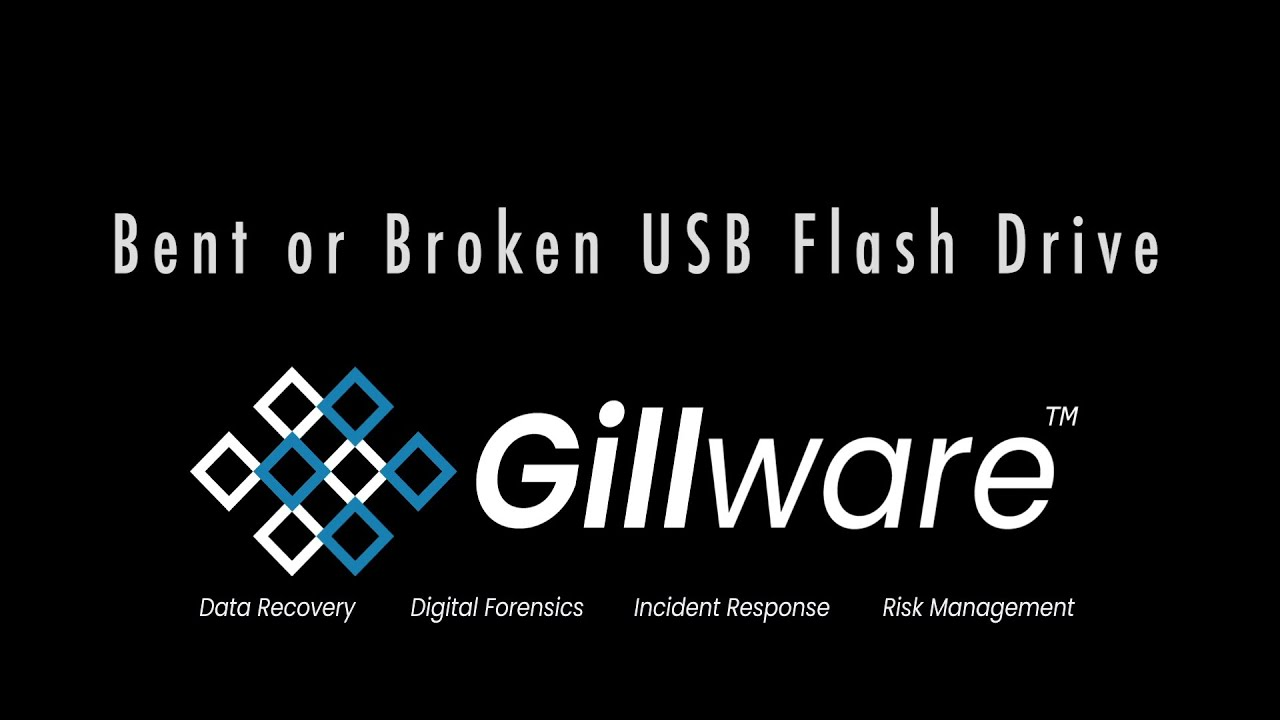 Flash Drive Repair Case Study Bent Usb Thumb Drive Gillware Inc