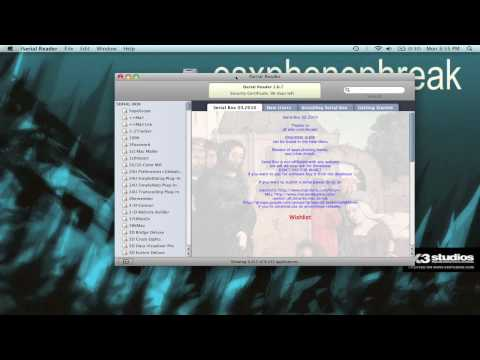 All Serial & CD Keys For Mac (iSerial Reader)