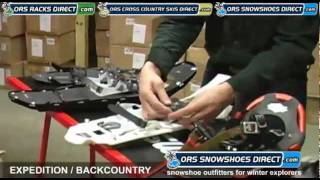 2012 Backcountry MSR, Tubbs, Atlas Snowshoes Comparison Video - by ORS Snowshoes Direct