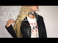 HOW TO: STYLE A LEATHER JACKET - 5 SIMPLE WAYS |  LOOKBOOK | SYD AND ELL