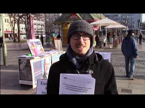 Aktionstag in Berlin zum Aufruf: