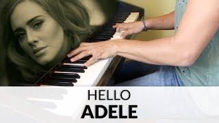 Adele - Hello | Piano Cover + Sheet Music