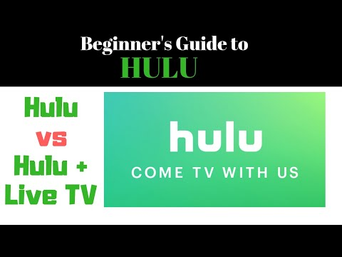 Beginner's Guide To Hulu - Hulu, Hulu + Live TV, Hulu Add-ons, Hulu Channels, Pricing & More